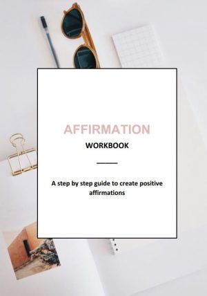 Affirmation Workbook Those Positive Thoughts