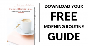Morning Routine Guide Download