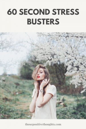 60 second stress busters