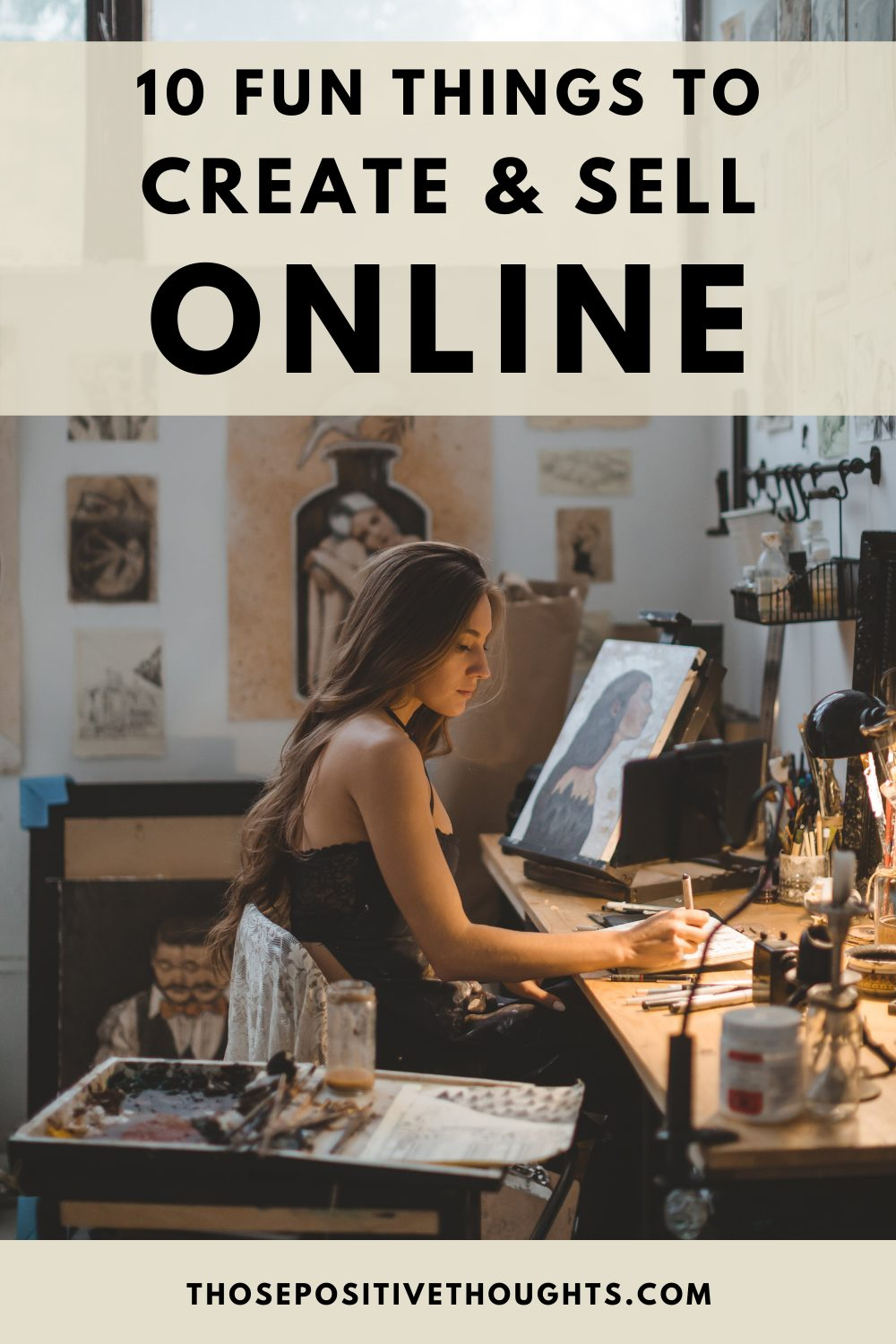 10 fun things to create and sell online