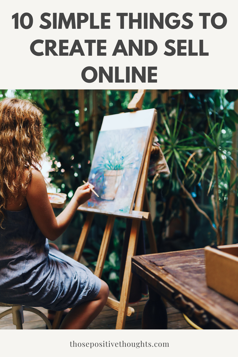 10 simple things to create and sell online